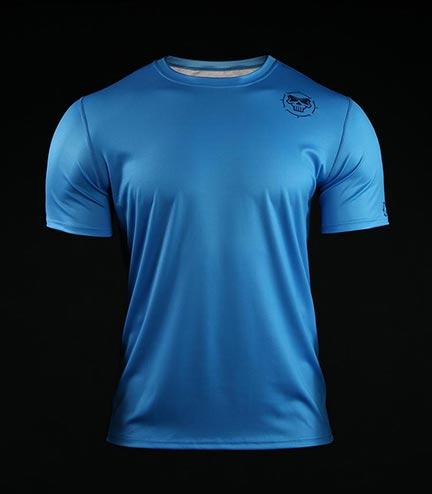 Training t-shirt Crossborn Minimal Blue