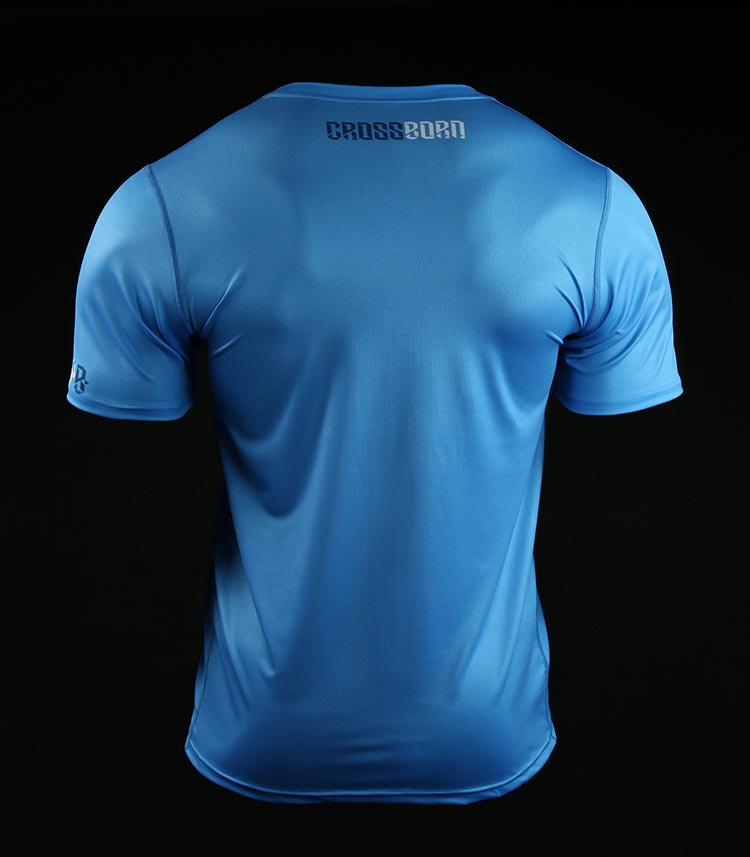 Training t-shirt Crossborn Minimal Blue