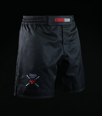 Spodenki treningowe Crossborn Minimal Black