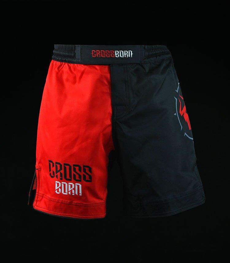 Spodenki treningowe Crossborn Classic Red